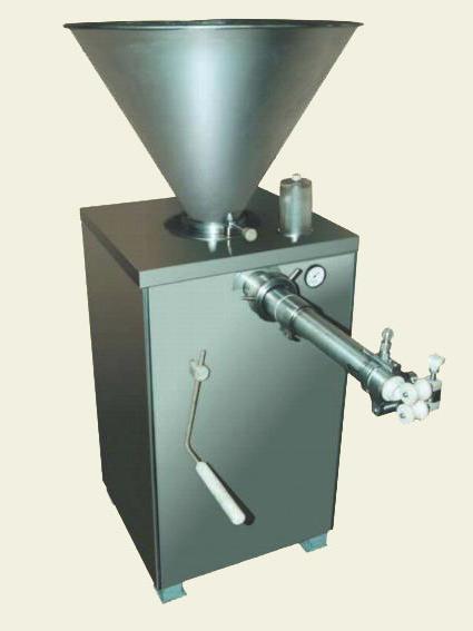 Шприц для набивки колбас вакуумный ,ШВМ-1НП Д с перекрутчиком и дозатором